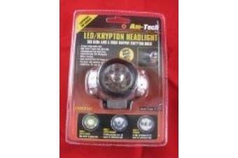 Am-Tech LED/ Krypton Headlight