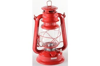 (Colours May Vary) - Blackspur Large Paraffin Oil Hurricane/Storm Camping Lantern (Colours May Vary)