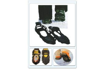 ANTI SLIP ICE GRIPPERS FOR BOOTS SHOES GRIPS OVERSHOE MEDIUM