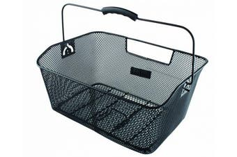(Black) - M Wave Front Or Rear Bicycle Wire Basket
