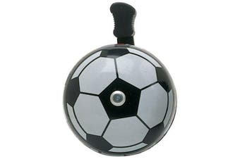 Raleigh Bell-Soccer Ball Silver And Black