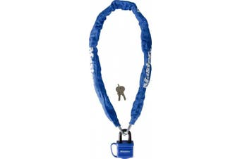 (One Size, Blue) - Master Lock 8228 Encased Cable Lock