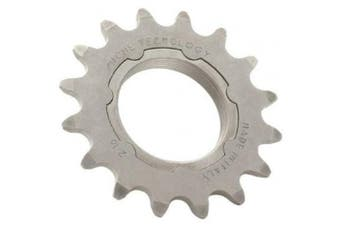 (16 tooth, Silver) - Miche Fixed Sprocket Unisex 1/8 Track Sprocket - Silver, 16 tooth