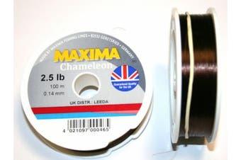 (1.4kg) - Maxima Chameleon Fishing Line 100 Metre Spool