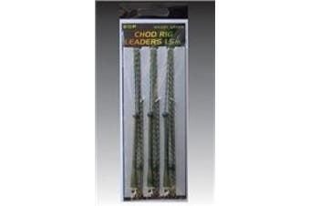 E.S.P Chod Rig Leaders 1.5M: Weedy Green