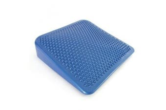 66fit Inflatable Wedge Cushion & Pump - Blue