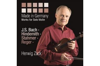 Made in Germany - Works for Solo Violin