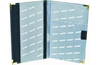 (Blue) - Longridge Deluxe Golf Scorecard Holder
