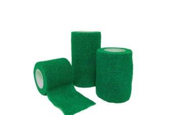 (Green, 5cm x 4.5m) - Cohesive Bandage Green 5cm x 4.5m