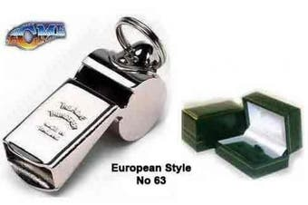 GENUINE Acme Thunderer No 63 European Style Whistle with GIFT BOX