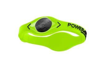 (Large, Volt Black) - Power Balance Volt Men's Wristband