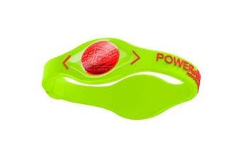 (Medium, Volt Red) - Power Balance Volt Men's Wristband