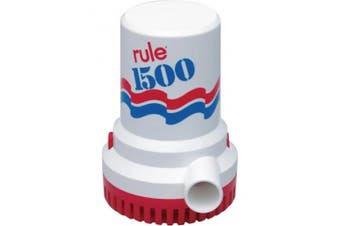 (24 Volt) - Rule Marine Bilge Pump, 7570.8l Per Hour, Non-Automatic