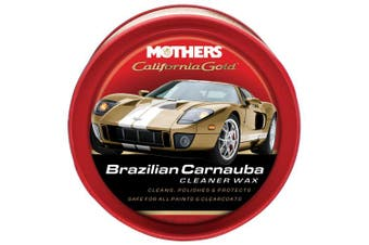 (350ml) - Mothers California Gold Brazilian Carnauba Cleaner Wax Paste - 350ml
