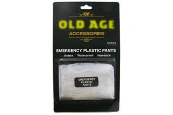 Old Age Emergency Plastic Pants by A1Gifts