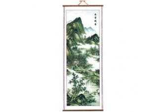 Chinese Picture Scroll - Valley Landscape