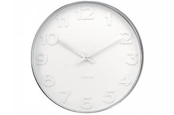 Karlsson Wall Clock White Face with Numbers