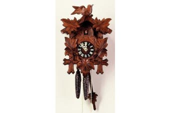 Cuckoo Clock Five leaves, bird