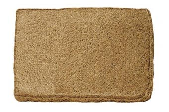 William Armes Dandy Melford Hand Woven Doormat, Natural Coir, 85 x 50 cm