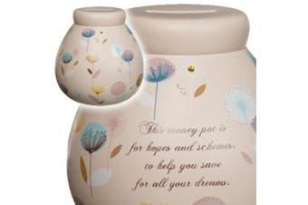 Pot of Dreams - Ceramic Money Box - Dandelion
