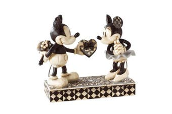 Disney Traditions Mickey and Minnie Mouse Real Sweetheart Figurine