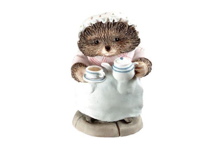 Beatrix Potter Mrs Tiggy-winkle Pouring Tea Figurine