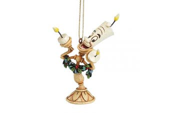 (Lumiere) - Disney Traditions Beauty And The Beast Lumiere Hanging Ornament