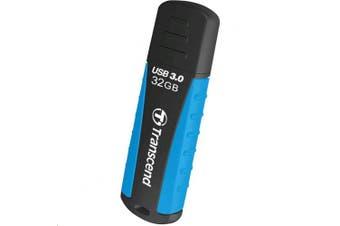 Transcend 32GB JetFlash 810 Rugged USB 3.0 flash drive , excellent defense against shock, splashes,