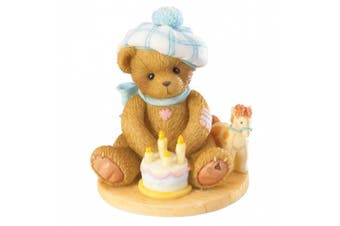 (Measures Approximately 8.3cm  High x 6.4cm  Wide) - Cherished Teddies Through The Years Age 4