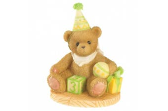 (Measures Approximately 7.6cm  High x 6.4cm  Wide) - Cherished Teddies Through The Years Age 3