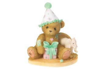 (Measures Approximately 7.6cm  High x 7.6cm  Wide) - Cherished Teddies Through The Years Age 8