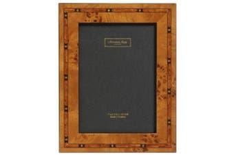 Addison Ross, Marquetry Photo Frame,8x10, Brown Star Fibre Back, 20cm x 25cm