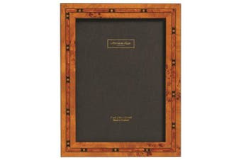 Addison Ross, Marquetry Photo Frame,4x6, Brown Star Fibre Back, 10cm x 15cm