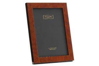 Addison Ross, Poplar Wood Veneer Photo Frame, 4x6, Dark Brown Poplar Fibre Back, 10cm x 15cm