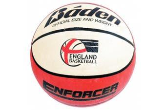 (Size 6) - Baden Enforcer Tan and Cream Basketball