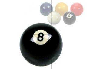 "Black No 8 Ball 2¼"""