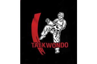 (Karate) - Cimac Karate, Taekwondo, Kickboxing Motif Martial Arts Holdall - Black/Red