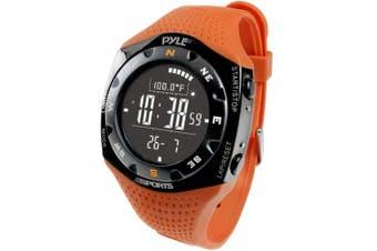 (Orange) - Pyle Sports Ski Master V Professional Ski Watch