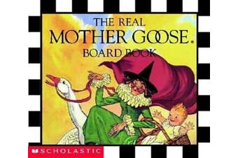 The Real Mother Goose Board Book (Real Mother Goose Library) [Board book]