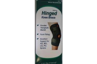 (3X-Large) - Advanced Orthopaedics Deluxe Hinged Knee Brace