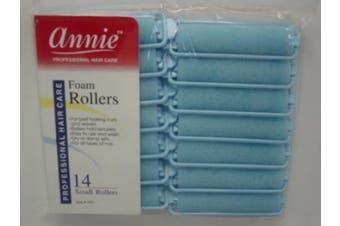 (1.6cm ) - Annie Small 1.6cm Foam Hair Rollers - 14 Pcs.