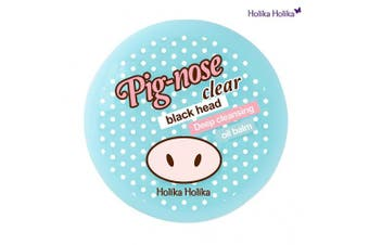 (Pig Nose Clear Black Head Deep Cleansing Oil Balm 25g) - Holika Holika Pig Nose Clear Black Head Deep Cleansing Oil Balm, 25 Gramme