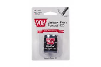 POH Dental Floss Percept 420 Black LiteWax 100 Yard