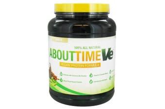 (Vanilla) - About Time - VE Vegan Protein Formula Vanilla - 2 lbs.
