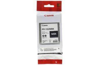 (Matte Black) - CANON PFI-102 (0894B001AA) Ink Cartridge (Matte black 1 PACK) IN RETAIL PACKAGING
