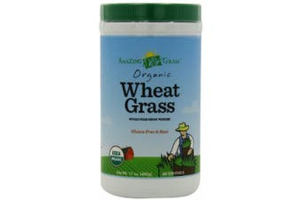 Amazing Grass Organic Wheat Grass Powder, 60 Servings, 500ml Container