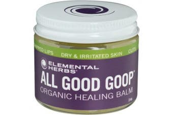 (60ml, Single) - All Good Goop Organic Healing Balm & Ointment | For Dry Skin/Lips, Cuts, Scars, Blisters, Nappy Rash, Insect Bites, Sunburn, & More (60ml)