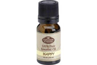 Happy Pure Essential Oil Blend 10 ml (Bergamot, Grapefruit & Ylang Ylang)
