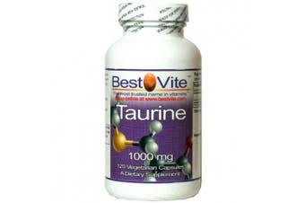 Taurine 1000mg (120 Vegetarian Capsules)