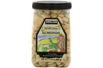 Kirkland Marcona Almonds, Roasted and Seasoned with Sea Salt, 520ml